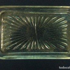 Antigüedades: BANDEJA CRISTAL. Lote 206131065