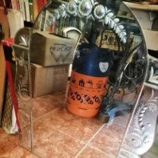 Antigüedades: ESPEJO VENECIANO PARA COLOGAR. Lote 206161206