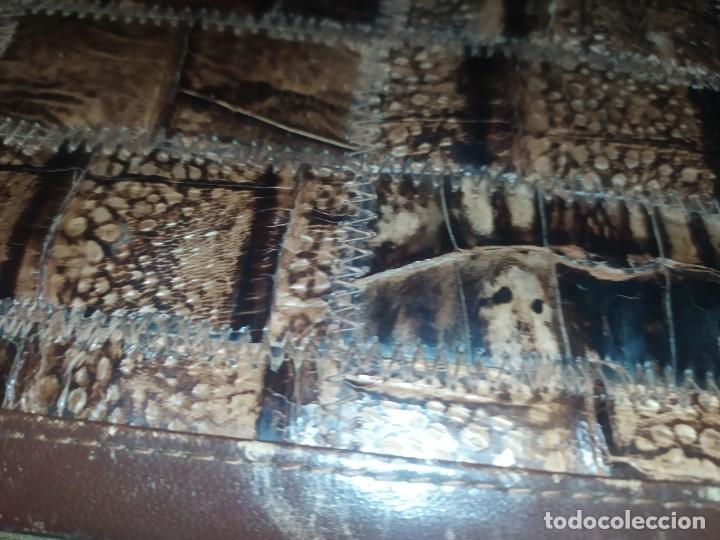Antigüedades: MALETÍN PIEL COCODRILO MADE IN SPAIN MARCA PRIMERO CIERRE AMIET PRECIOSO ÚNICO - Foto 17 - 175162404