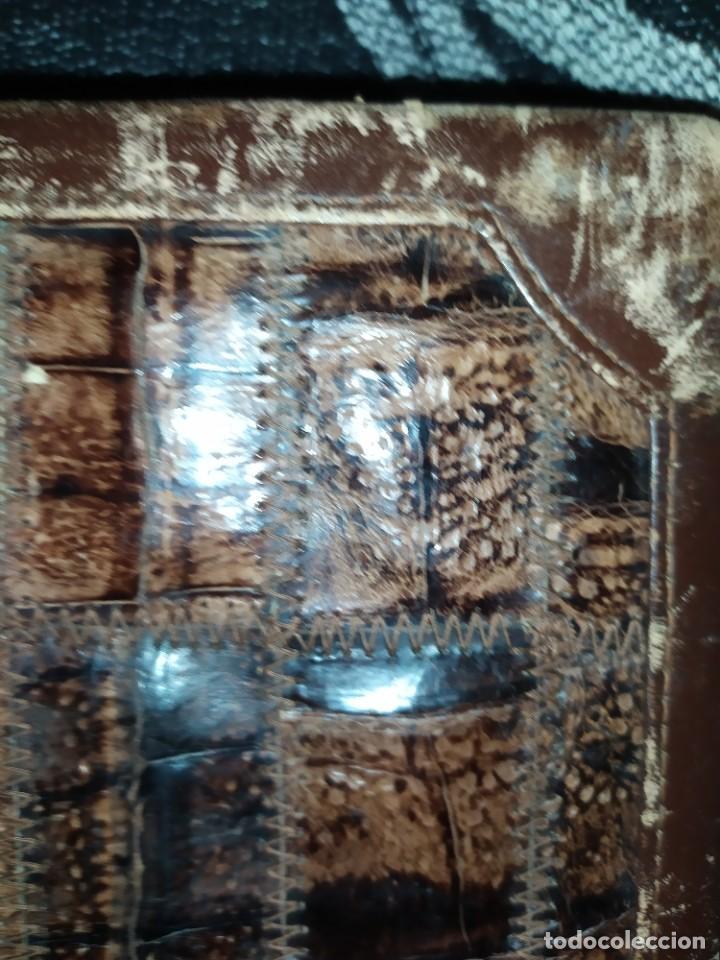 Antigüedades: MALETÍN PIEL COCODRILO MADE IN SPAIN MARCA PRIMERO CIERRE AMIET PRECIOSO ÚNICO - Foto 40 - 175162404