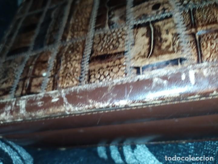 Antigüedades: MALETÍN PIEL COCODRILO MADE IN SPAIN MARCA PRIMERO CIERRE AMIET PRECIOSO ÚNICO - Foto 47 - 175162404