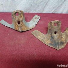 Antiquités: PAREJA REJAS CASAMAYOR DE ARADO... CULTIVADOR.. ARICADOR..... Lote 206189777