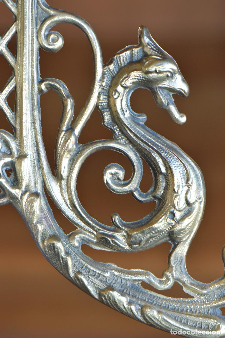 Antigüedades: LAMPARA APLIQAUE DE METAL DE 23 CM DE LARGO POR 15 CM DE ALTO - Foto 7 - 206210441
