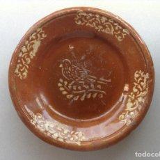 Antigüedades: RARA PLATA DE MATARÓ (S.XIX). Lote 206241763