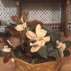 Antigüedades: MACETERO ANTIGUO PAN DE ORO. Lote 206244832