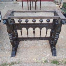 Antigüedades: MESA DE BARGUEÑO. Lote 206263275