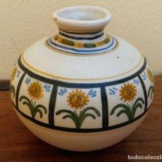 Antigüedades: JARRON TALAVERA SELLADO EN LA BASE. Lote 206281500