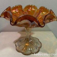Antigüedades: CARNIVAL GLASS, COPA.. Lote 206288355