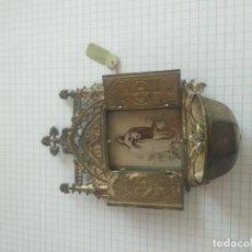 Antigüedades: CAPILLA ANTIGUA EN MINIATURA. Lote 206293342