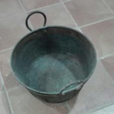 Antigüedades: CALDERO EN COBRE. Lote 206305680