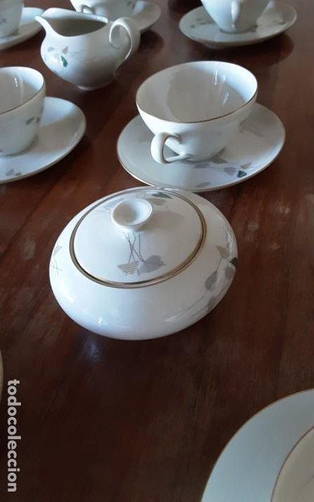 Antigüedades: Precioso juego de té de porcelana KPM Krister Germany 1952, 12 servicios. 37 piezas. Sellado - Foto 7 - 206310940