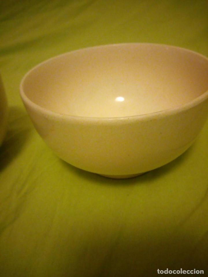 Antigüedades: Lote de 2 tazones de porcelana ddr,germany,mas de 50 años. - Foto 3 - 206311362