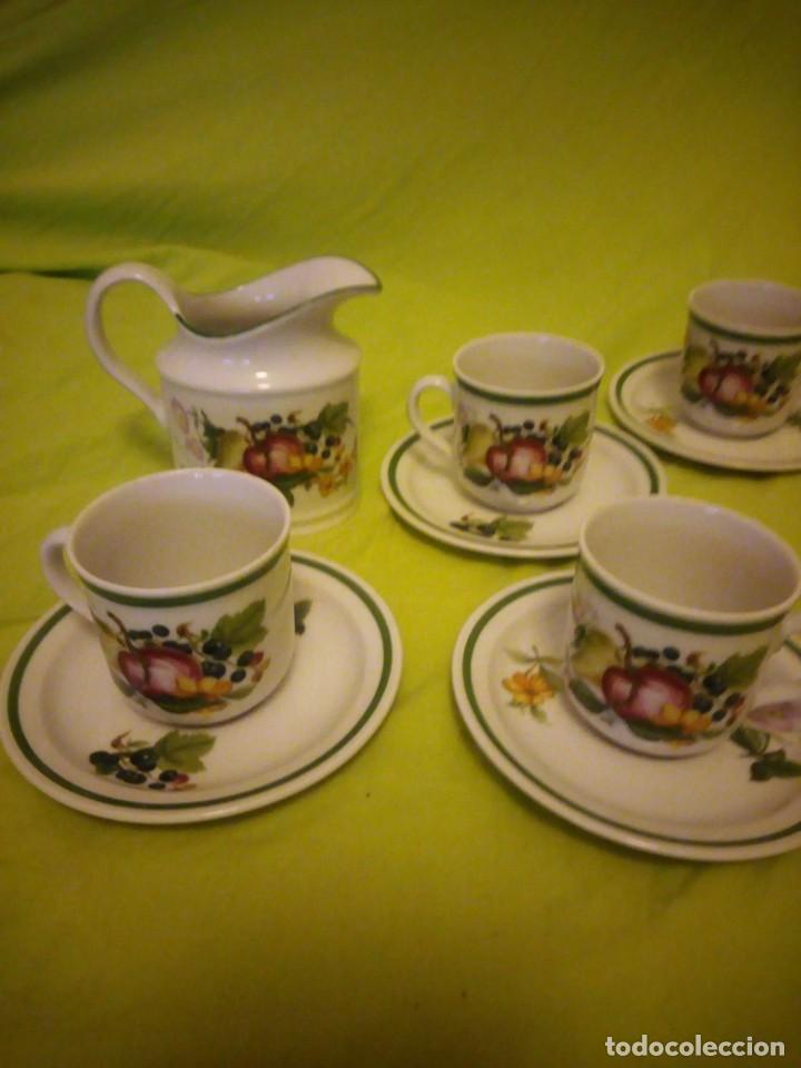 Antigüedades: Bonito servicio de café de porcelana seltman weider bavaria w. germany - Foto 2 - 206312856
