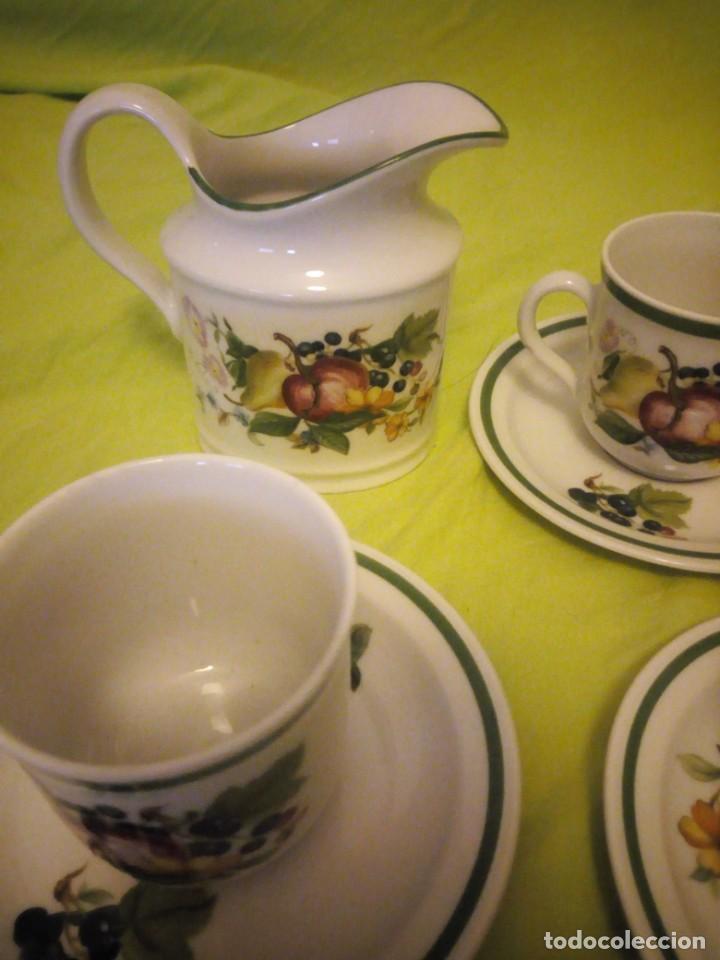 Antigüedades: Bonito servicio de café de porcelana seltman weider bavaria w. germany - Foto 4 - 206312856