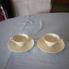 Antigüedades: BONITO TU Y YO DE CAFE ,PORCELANA H&C SELB BAVARIA GERMANY HEINRICH. Lote 206315377