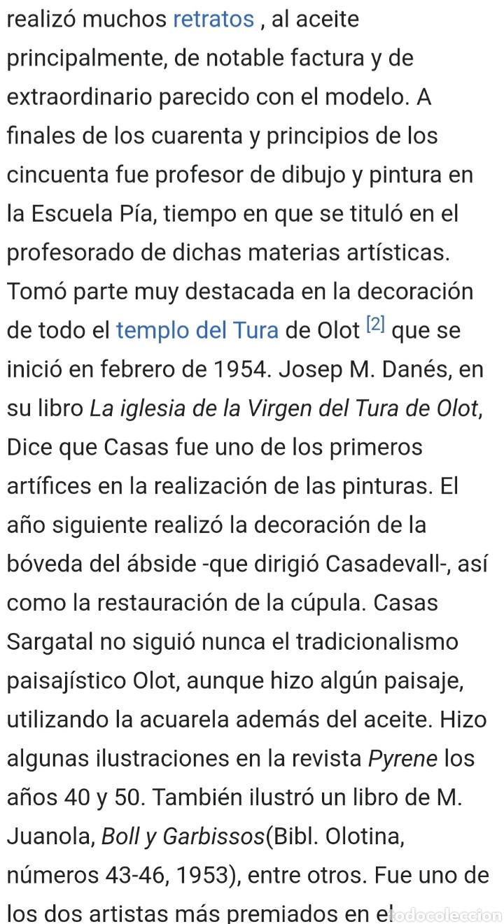 Antigüedades: Jaume Cases Sarguetal (Olot,1906-1963) - Nuestra Sra.de Montserrat.Retablo Cerámico.FirmadoTitulado. - Foto 5 - 197613378
