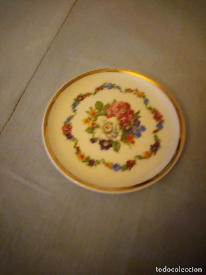 Antigüedades: Pequeño plato de porcelana vohenstrauss johann seltmann bavaria - Foto 2 - 206325268