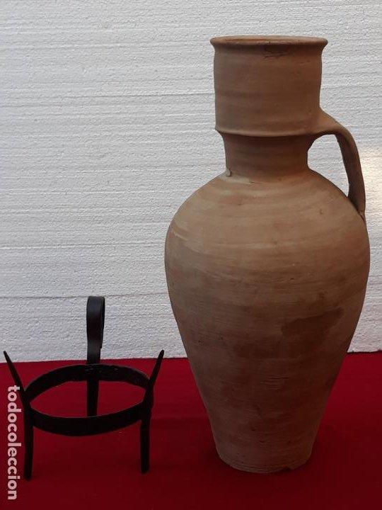 Antigüedades: CANTARO ANTIGUO DE MOTA DEL CUERVO ( CUENCA ) - Foto 2 - 206333311