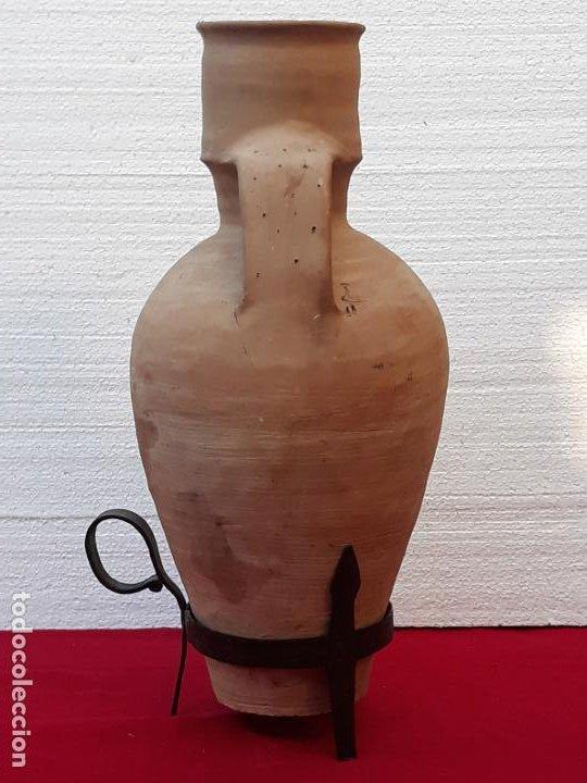 Antigüedades: CANTARO ANTIGUO DE MOTA DEL CUERVO ( CUENCA ) - Foto 5 - 206333311