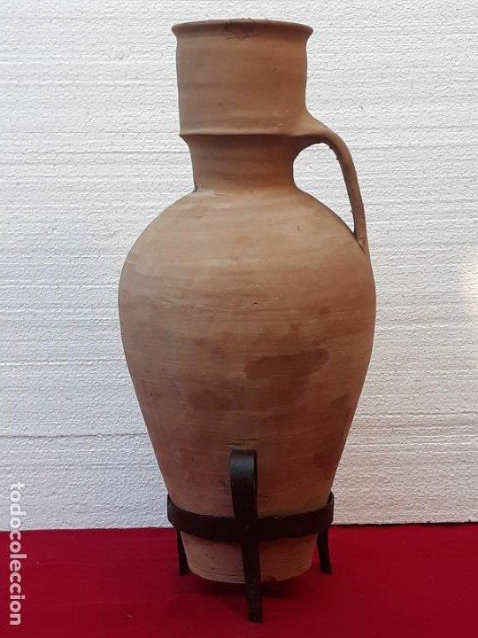 CANTARO ANTIGUO DE MOTA DEL CUERVO ( CUENCA ) (Antigüedades - Porcelanas y Cerámicas - Otras)