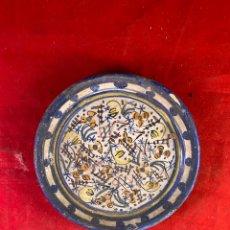 Antigüedades: PLATO CERÁMICA. Lote 206342135