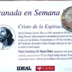 Antiguidades: SEMANA SANTA. GRANADA. MONEDA CRISTO DE LA EXPIRACIÓN. A ESTRENAR. Lote 206343483