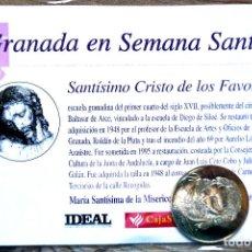 Antiguidades: SEMANA SANTA. GRANADA. MONEDASTMO. CRISTO DE LOS FAVORES. A ESTRENAR. Lote 206346093