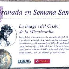 Antiguidades: SEMANA SANTA. GRANADA. MONEDA CRISTO DE LA MISERICORDIA. A ESTRENAR. Lote 206354402