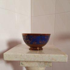 Antigüedades: PRECIOSO Y ANTIGUO TAZON DE REFLEJOS O BRISTOL. Lote 159173780