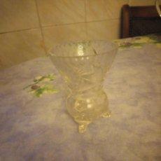 Antigüedades: BONITO JARRON DE CRISTAL TALLADO DE BOHEMIA.. Lote 206399968