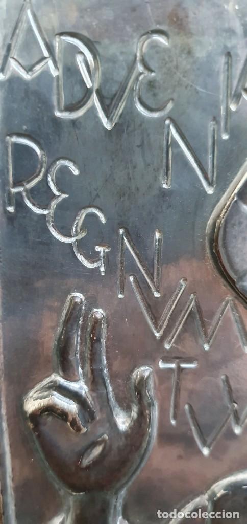Antigüedades: JAUME MERCADER-MIRET - SAGRADO CORAZÓN - PLATERO SERRAHIMA. - Foto 4 - 206403222