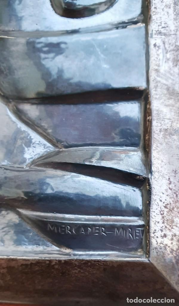 Antigüedades: JAUME MERCADER-MIRET - SAGRADO CORAZÓN - PLATERO SERRAHIMA. - Foto 6 - 206403222
