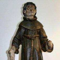 Antigüedades: TALLA FRANCISCANO SIGLO XVI. Lote 206134662