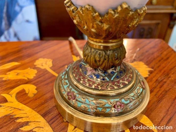 Antigüedades: Maravillosa lamparita antigua - Foto 4 - 206430211