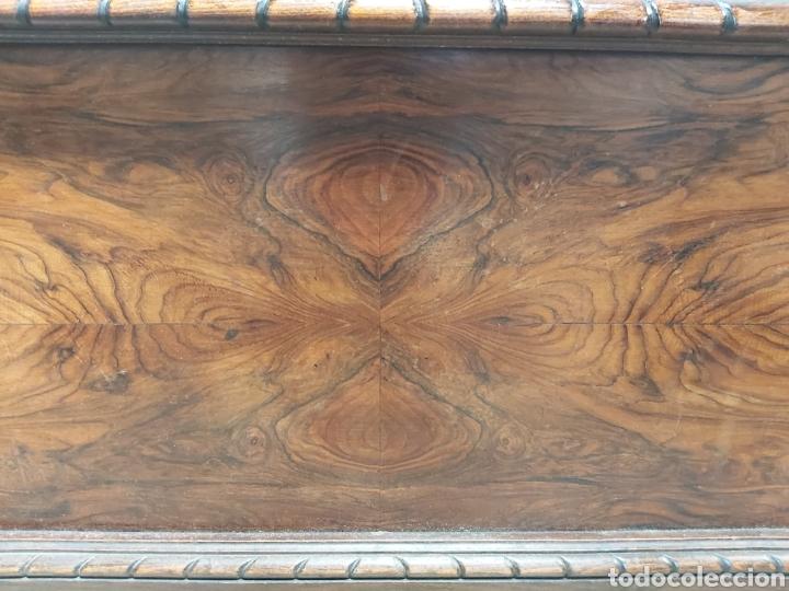 Antigüedades: Cabecero en madera de raíz con adornos. - Foto 4 - 206448432