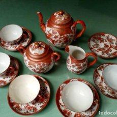 Antigüedades: JUEGO DE TE EN PORSELANA FINA JAPONESA.. Lote 206451781