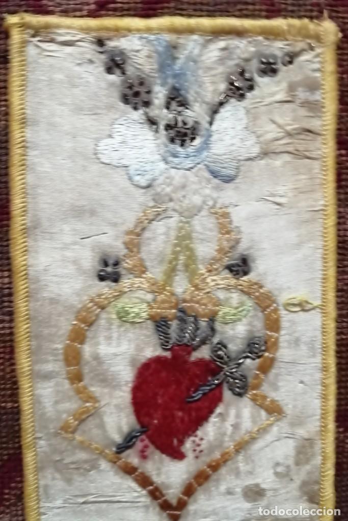 Antigüedades: Ínfula de la mitra del Cardenal Ilundain, (1925-1937) - Foto 3 - 206460270