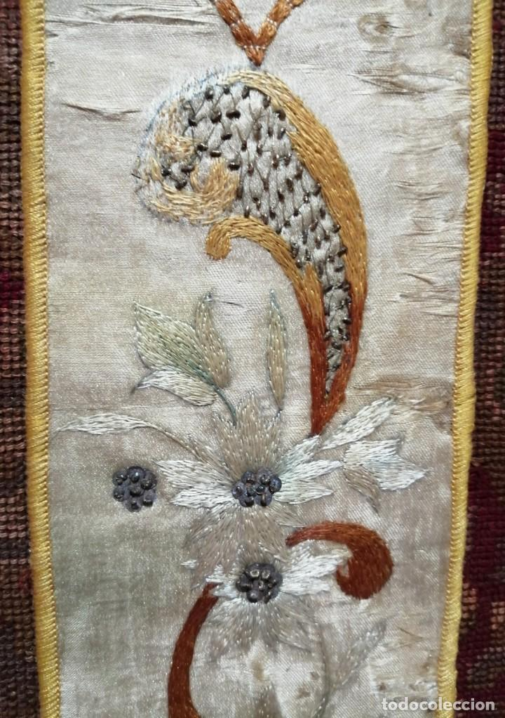Antigüedades: Ínfula de la mitra del Cardenal Ilundain, (1925-1937) - Foto 4 - 206460270