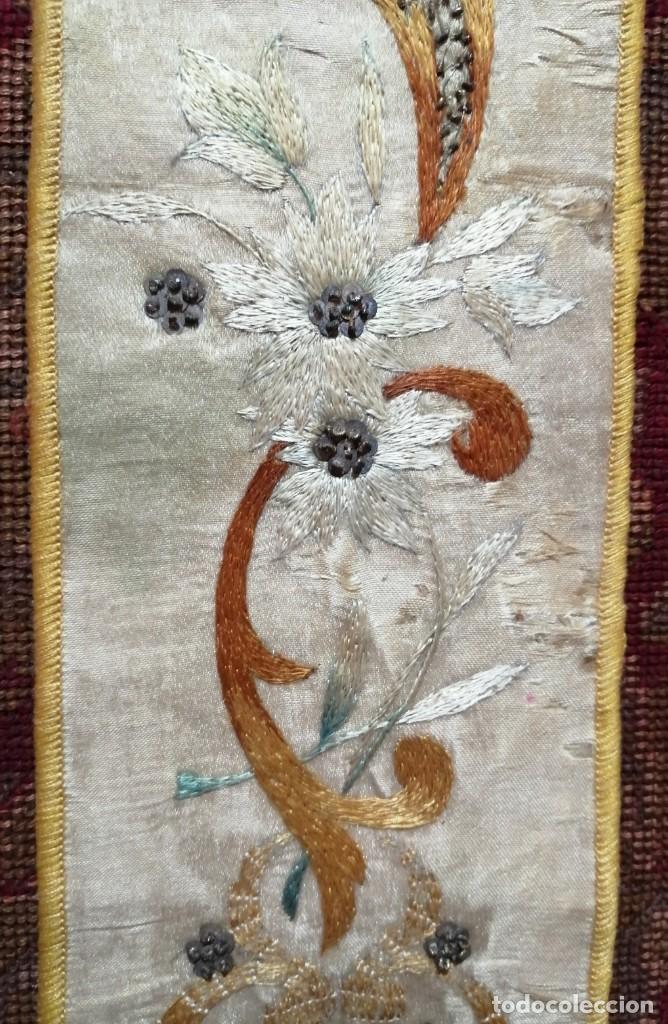 Antigüedades: Ínfula de la mitra del Cardenal Ilundain, (1925-1937) - Foto 5 - 206460270
