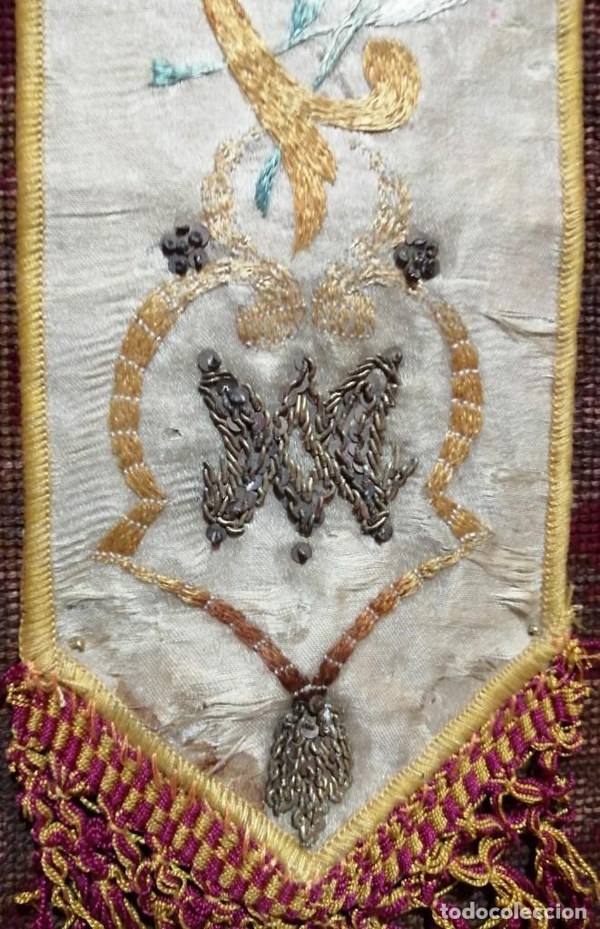 Antigüedades: Ínfula de la mitra del Cardenal Ilundain, (1925-1937) - Foto 6 - 206460270
