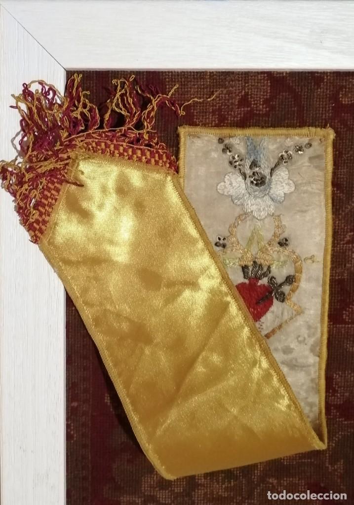 Antigüedades: Ínfula de la mitra del Cardenal Ilundain, (1925-1937) - Foto 7 - 206460270
