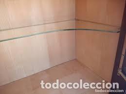 Antigüedades: mueble bar años 40/50 cerezo Silvestre ,con estante de cristal ,luz y 2 cajones para cubiertos - Foto 14 - 206473910