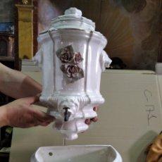 Antigüedades: AGUAMANIL DE PORCELANA. Lote 206474925