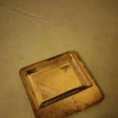 Antigüedades: PEQUEÑO VACIABOLSILLOS DE METAL BAÑADO EN PLATA,VINTAGE.. Lote 206476773