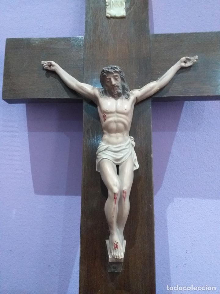 Antigüedades: Antigua cruz - ver las imágenes - Foto 2 - 206477758