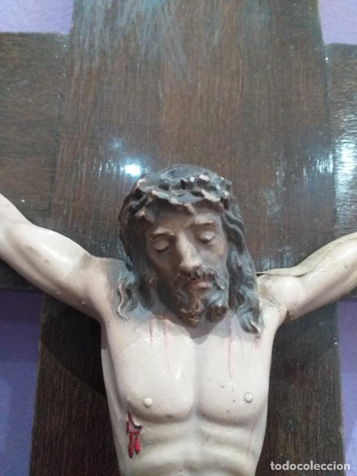 Antigüedades: Antigua cruz - ver las imágenes - Foto 3 - 206477758