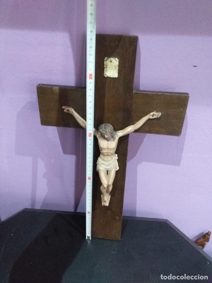 Antigüedades: Antigua cruz - ver las imágenes - Foto 4 - 206477758