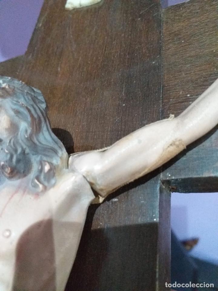 Antigüedades: Antigua cruz - ver las imágenes - Foto 9 - 206477758