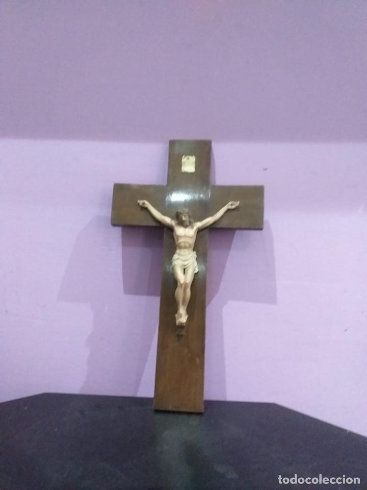 ANTIGUA CRUZ - VER LAS IMÁGENES (Antigüedades - Religiosas - Cruces Antiguas)