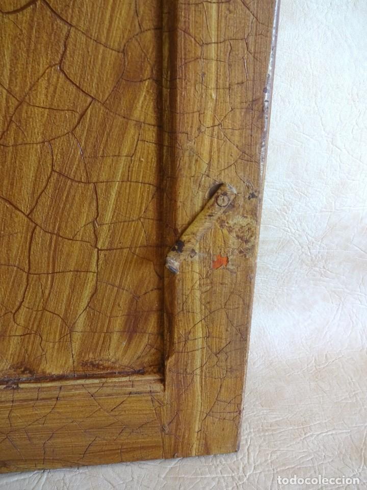 Antigüedades: conjunto de 2 antiguos porticones ventana 1,3 m x 31 cm - Foto 9 - 53532795